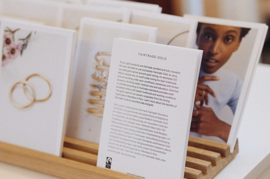 Messebericht über Hochzeitsmesse Fotografin Kerstin Vihman 2019 Quite Quiet Juweliergeschäft